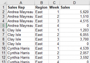 Connecting to Excel in Access - Worksheet