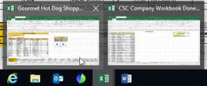 3D References between workbooks in Excel - Workbooks