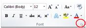 font-dialog-box